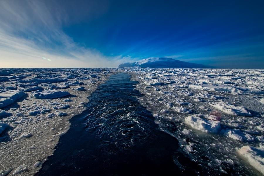 Ross sea ice