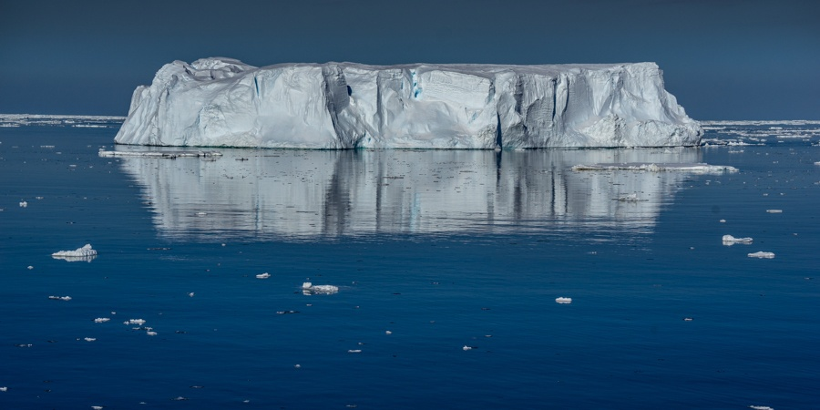 Coulman island iceberg