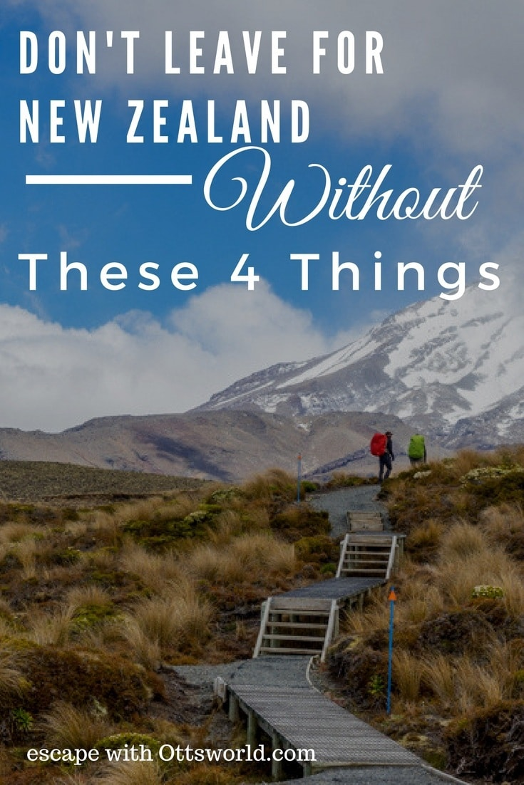 4 Things You What to Bring With You To New Zealand Add these items to your New Zealand packing list and travel worry free throughout the islands.
