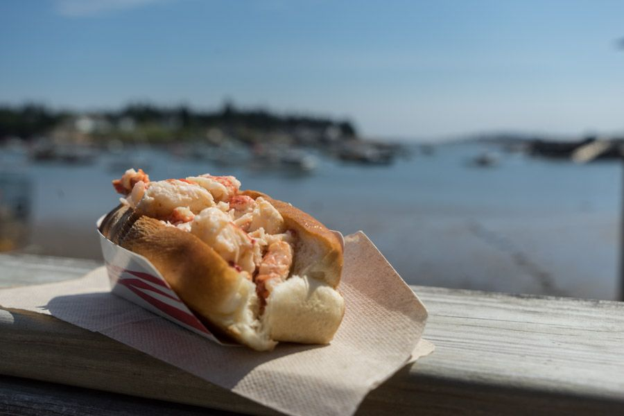 Maine Road Trip lobster corea