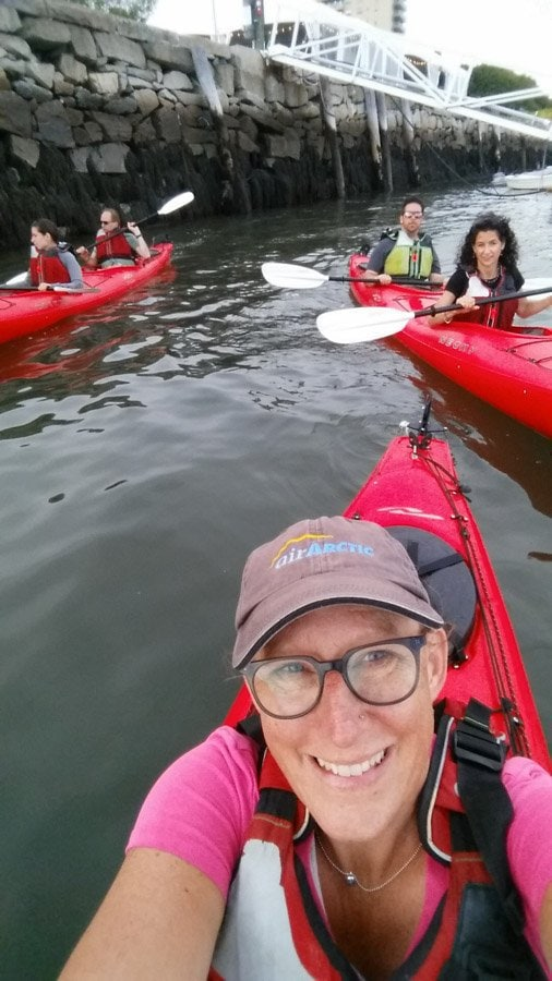 best plance to see maine kayak
