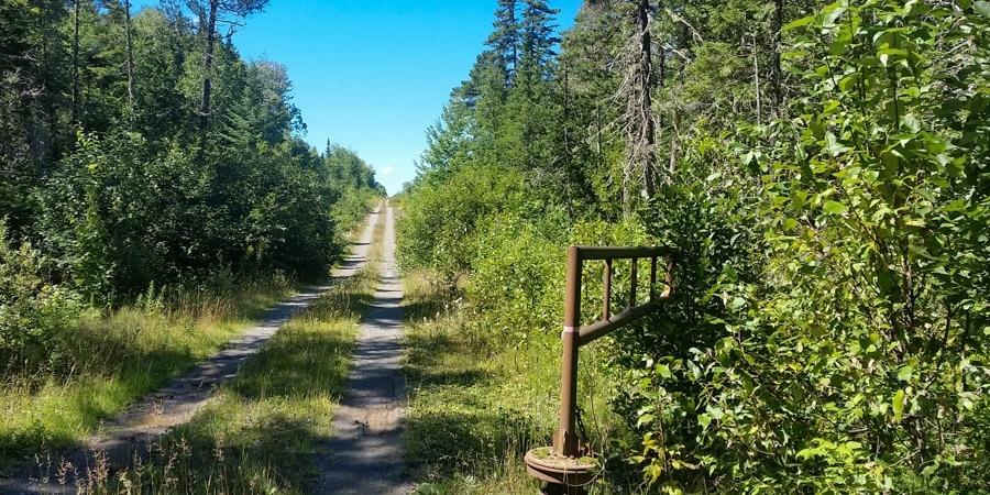 Maine wilderness roads