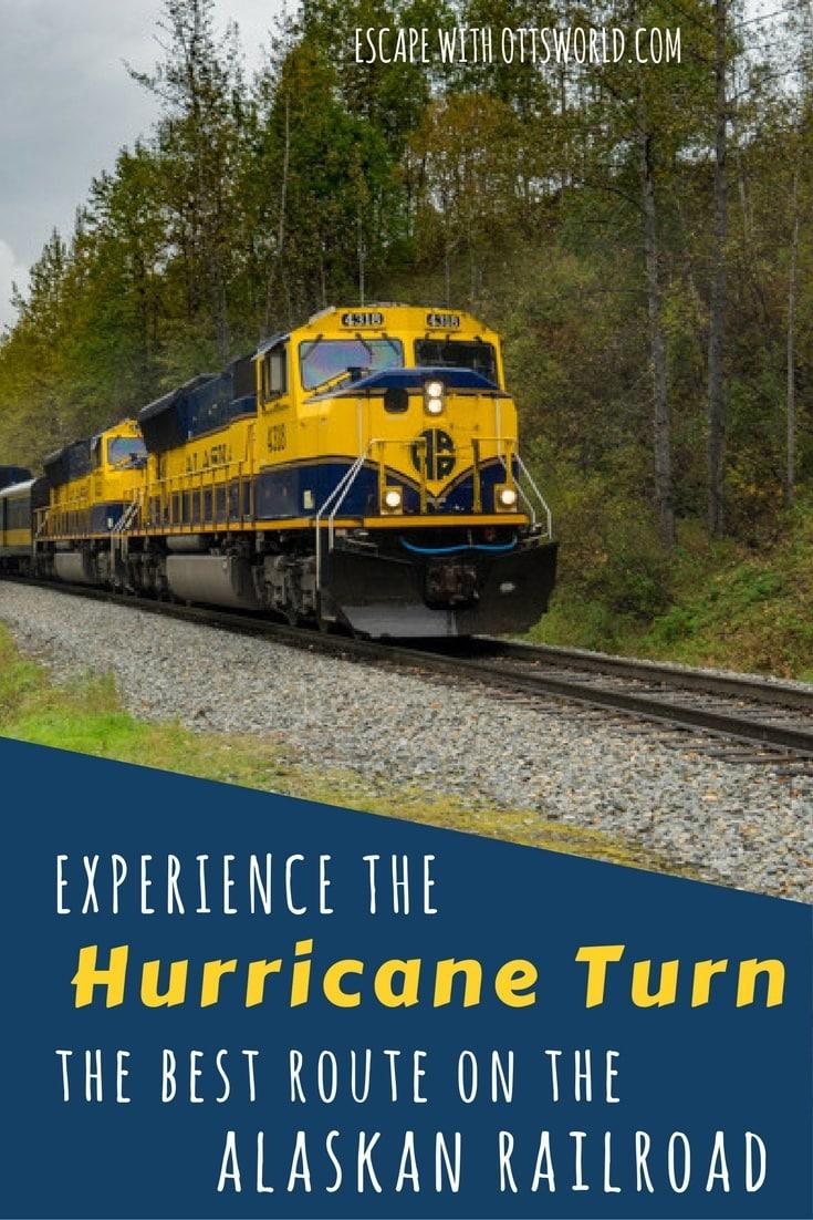 Ride the Hurricane Turn Train, the best kept secret on the Alaskan Railroad, and maybe all of Alaska.