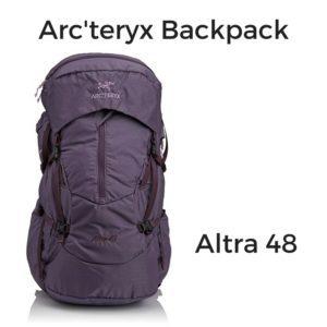 hiking backpack camino de santiago