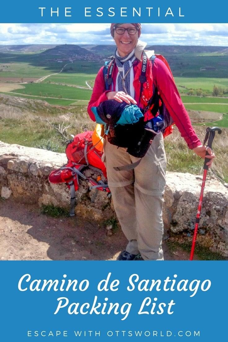 The Essential Camino de Santiago Packing List