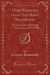 Dick Proenneke Journal
