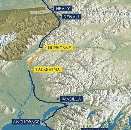 hurricane turn train route map