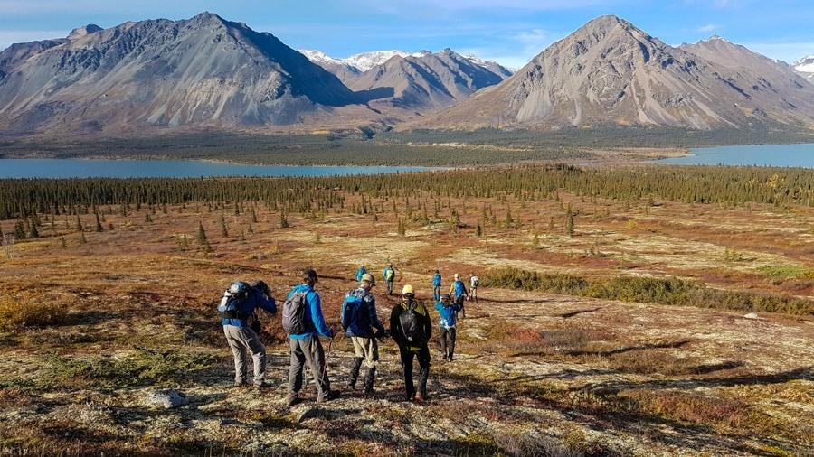 twin lakes alaska hiking