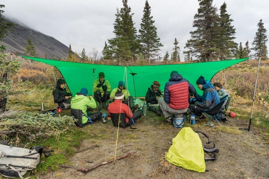 twin lakes alaska camping