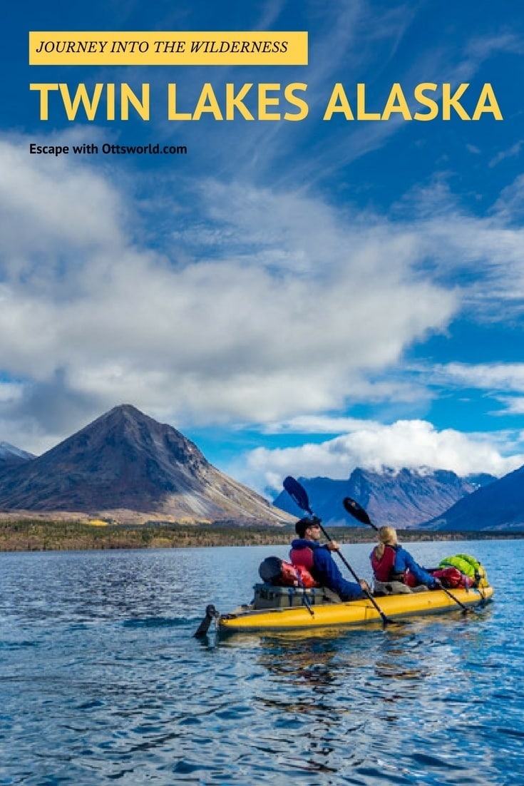 Journey into the wilderness of Twin Lakes Alaska.  Could you survive a trip like this?