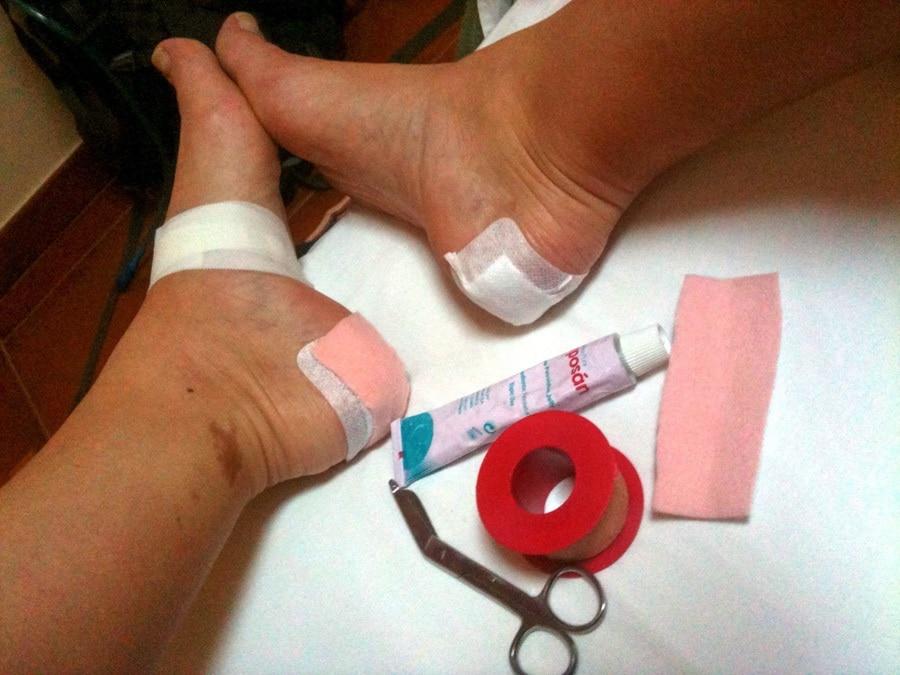 First aid kit for Camino de Santiago