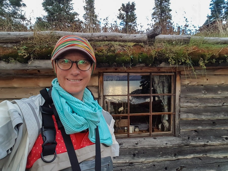 Twin Lakes Dick Proenekke cabin