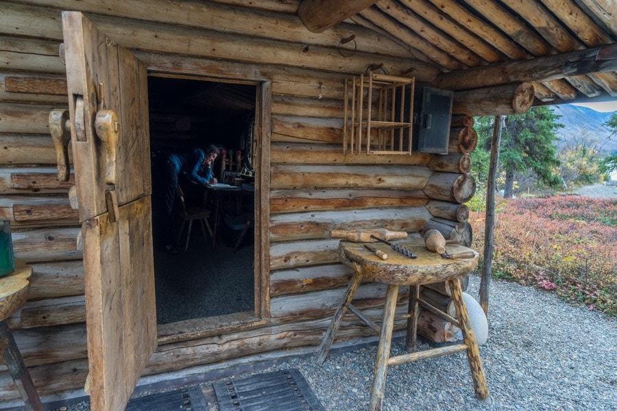 Dick Proenekke cabin visit