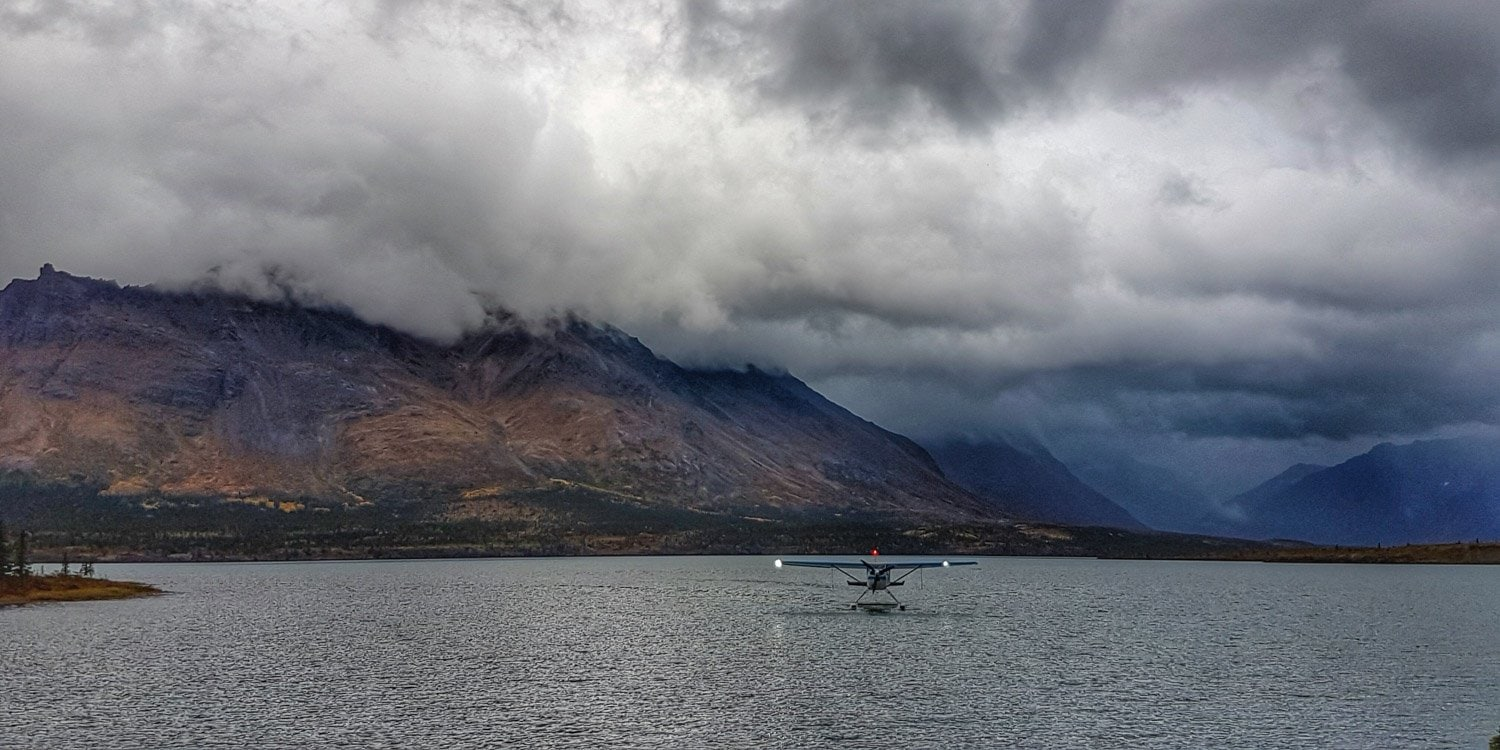 lake clark national Park floatplane