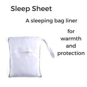 hiking and camping sleeping bag liner