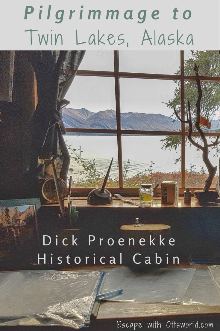 To be self sufficient and not at odds with the world, but content with one's own thoughts & company. Thousands have such dreams, but Dick Proenneke lived them in Twin Lakes, Alaska.