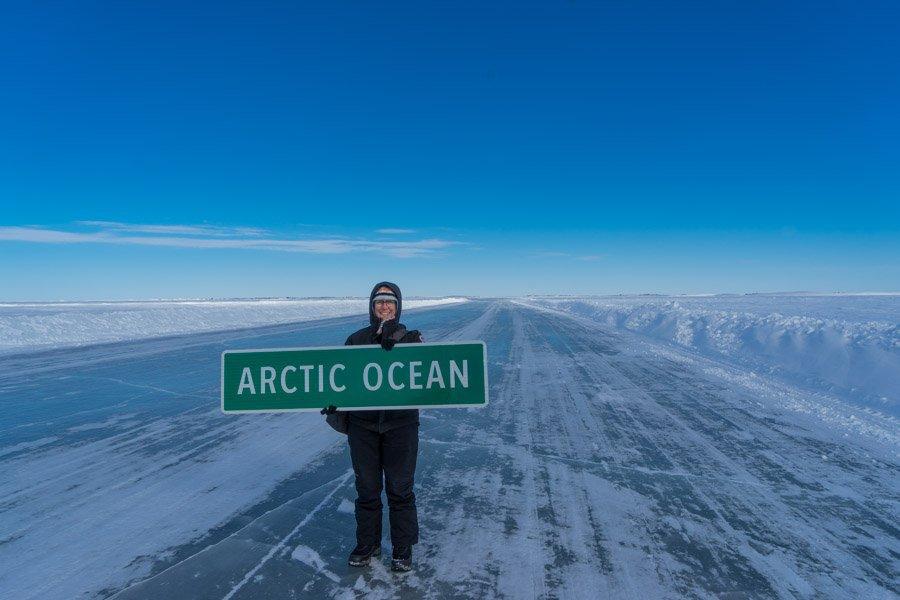 arctic adventure ice road