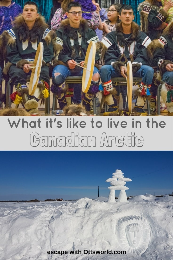 How do people in Inuvik live above the Arctic Circle in 9 months of winter &  1 month of total darkness in the Canadian Arctic? I'll show you...