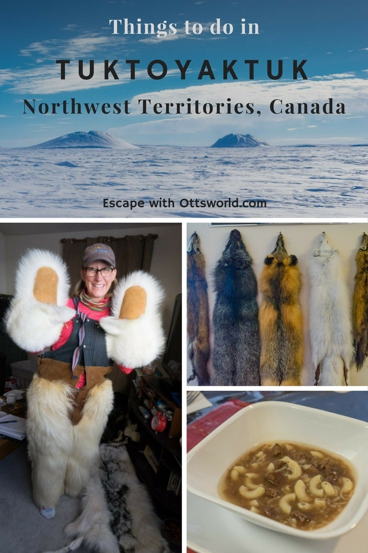 Teetering on the Arctic Ocean, population 860, Tuktoyaktuk in Canada's Northwest Territories is the coolest town around! Be sure to check out these things to do in Tuk!