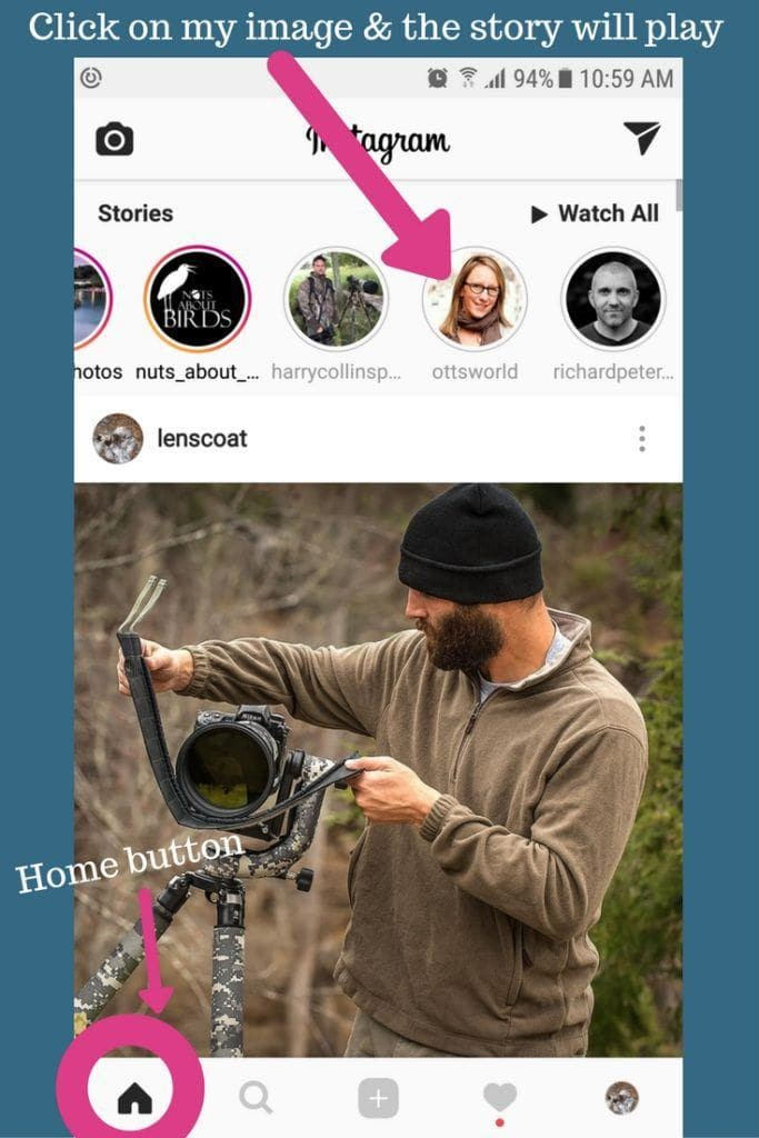 how to view an instagram story