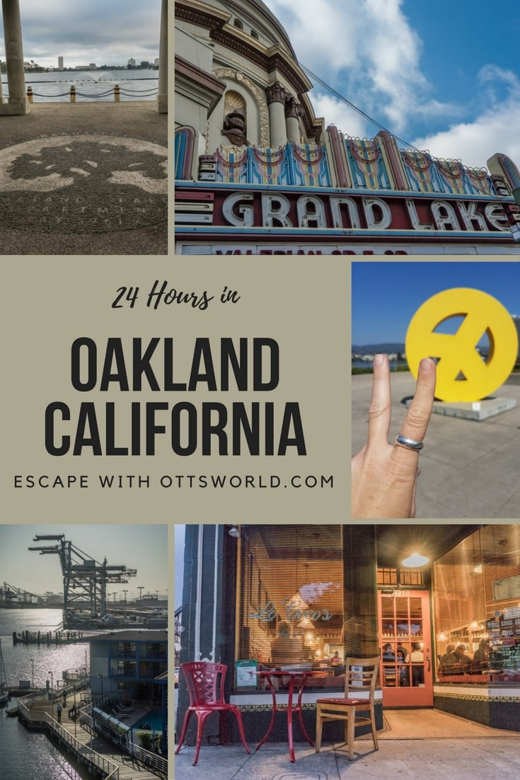 What to do in 24 hours in Oakland, California