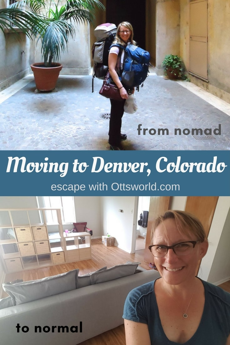 Moving to Denver has been full of struggles and elation; it's not easy going from nomad to normal! An update on what it's been like to move to Denver, Colorado.
