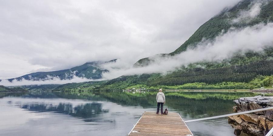 Norway fishing romsdalsfjorden