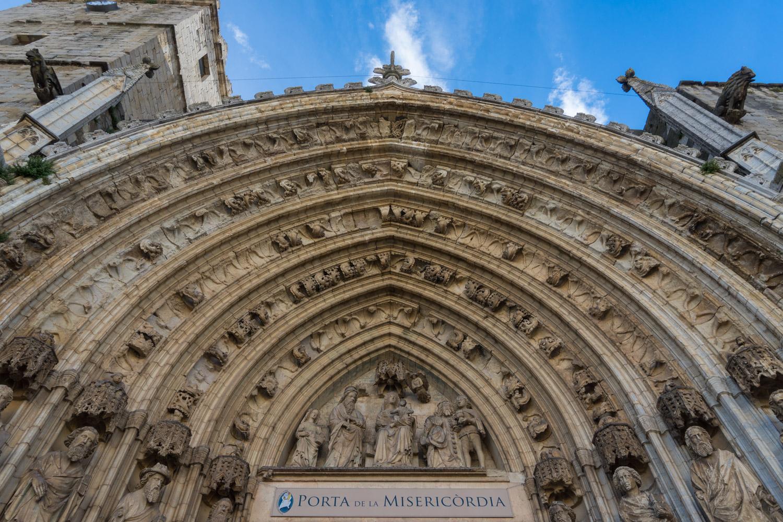 Castelló D'empuries Spain Cathedral Door