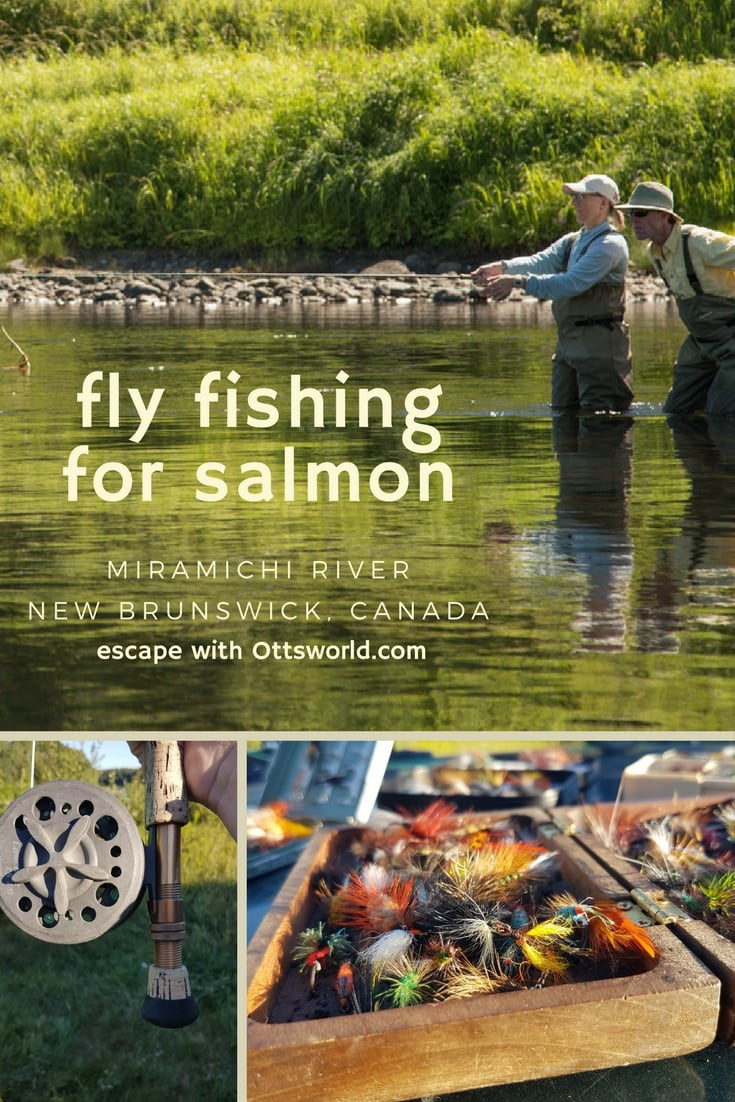 The Miramichi River in New Brunswick, Canada is a hidden gem for Atlantic Salmon fly fishing.