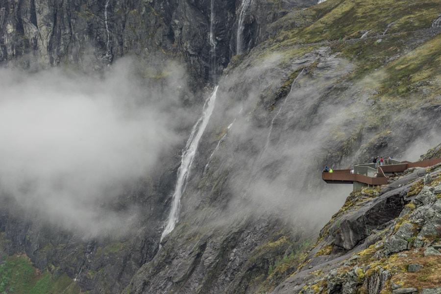 Trollstigen road viewpoint