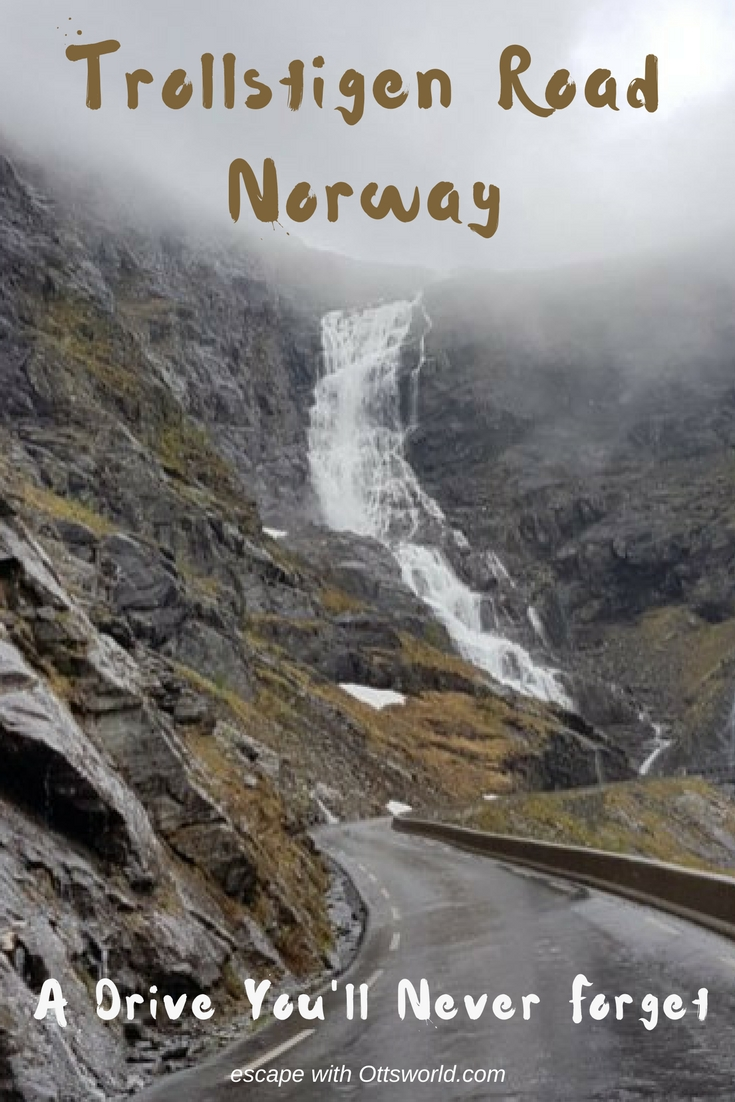 Norway's Trollstigen Road not only has 11 hairpin turns, 10% grade, climbs 2800 feet up shear rock face, but it also has trolls! Of course you want to drive it!