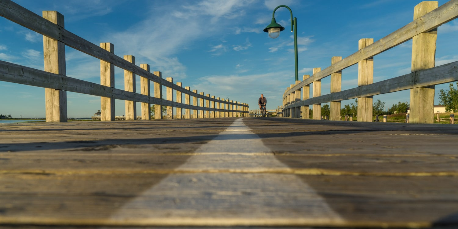 Shippagan Boardwalk Acadian Peninsula