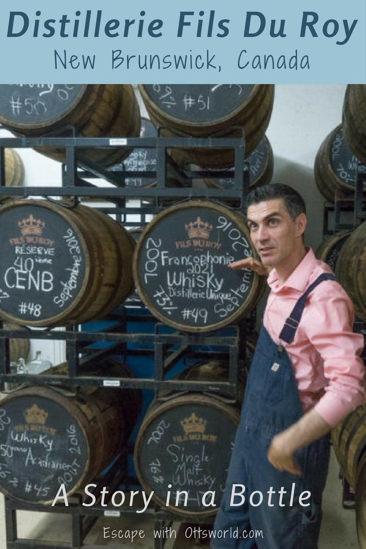 When you go to Distillerie Fils Du Roy in New Brunswick, Canada, be prepared, you won't just taste beer and spirits, you'll also get a story in each bottle.