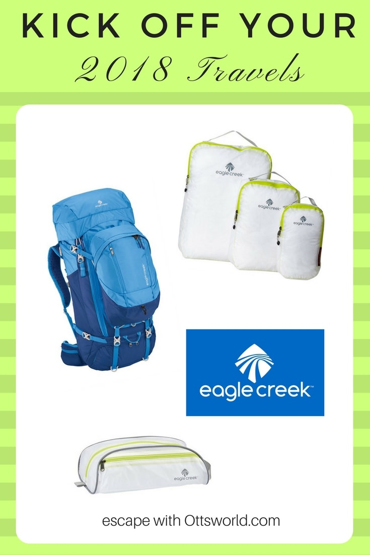 Where would you take this Eagle Creek gear in 2018?