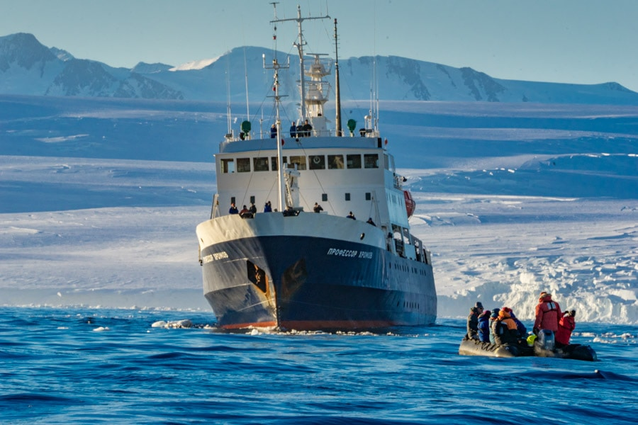Cruising to Antarctica on the Spirit of Enderby