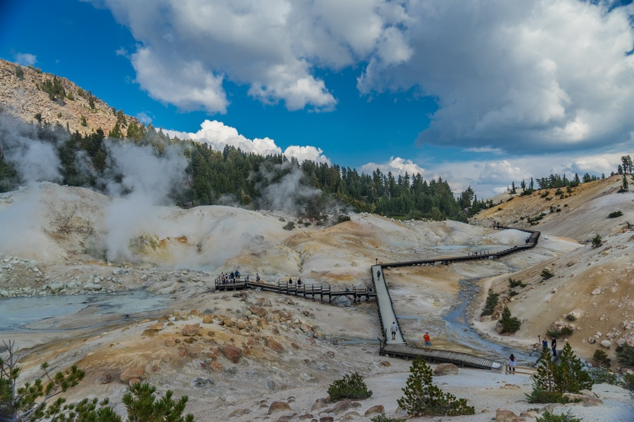 California Adventures bumpass hell hike
