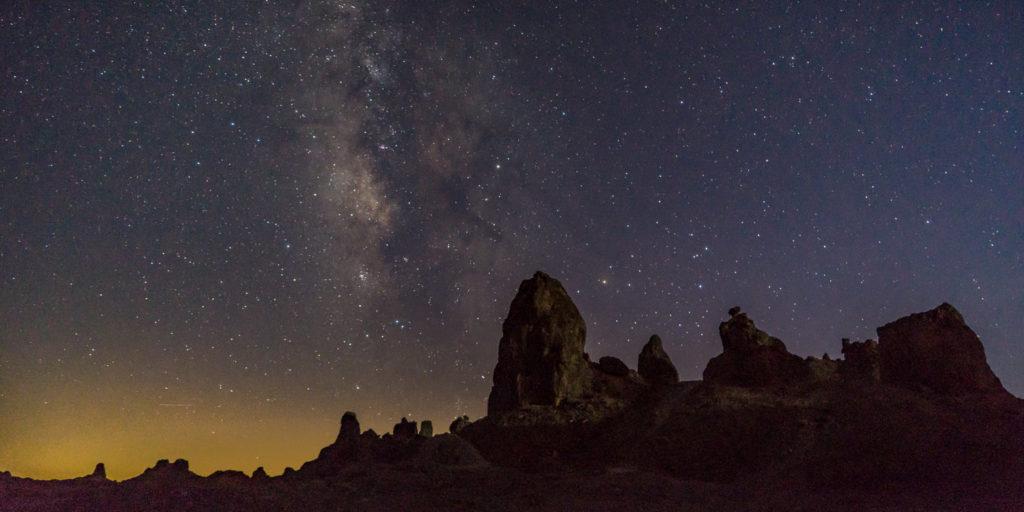 Trona Pinnacles Californa