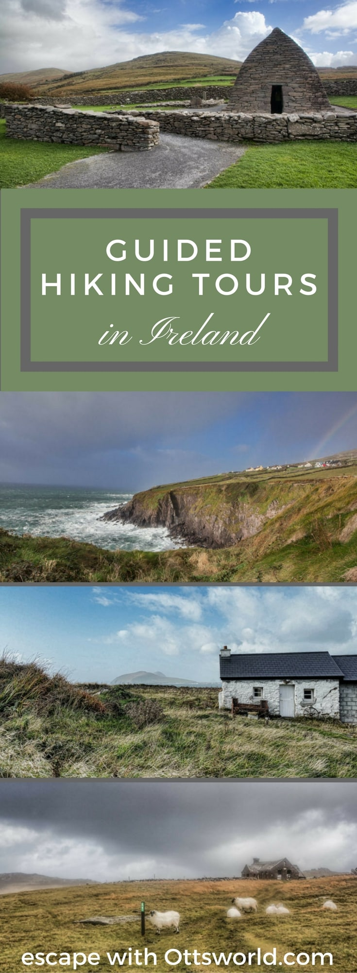 With a new range of guided and self guided hiking tours, I'm ready to head back to Ireland in 2018 to experience more hiking in Ireland on the West Coast!
