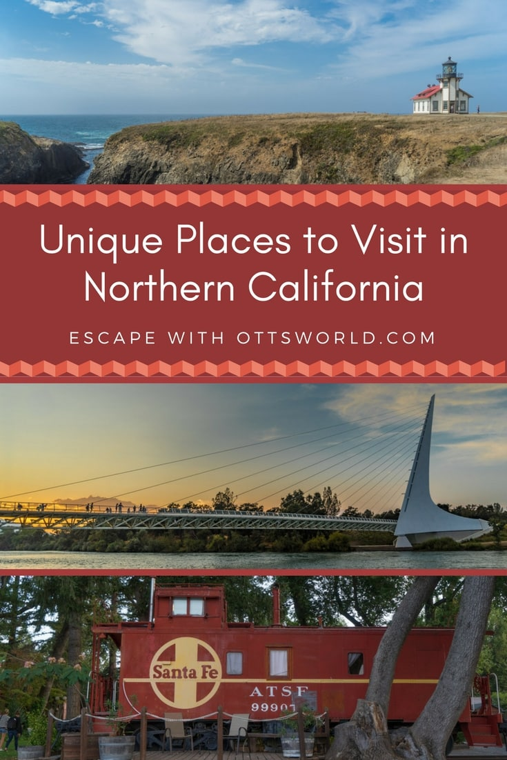 I don't want to follow the crowds to the well-known places. I like to find hidden gems few people know about. Add these unique places to visit to your Northern California itinerary!