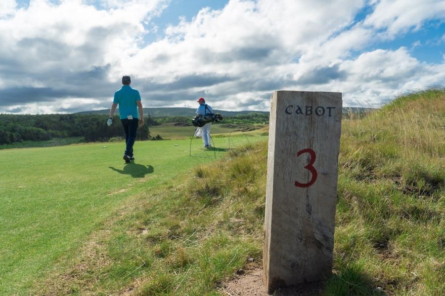 Cabot Cliffs Golf Course hole 3
