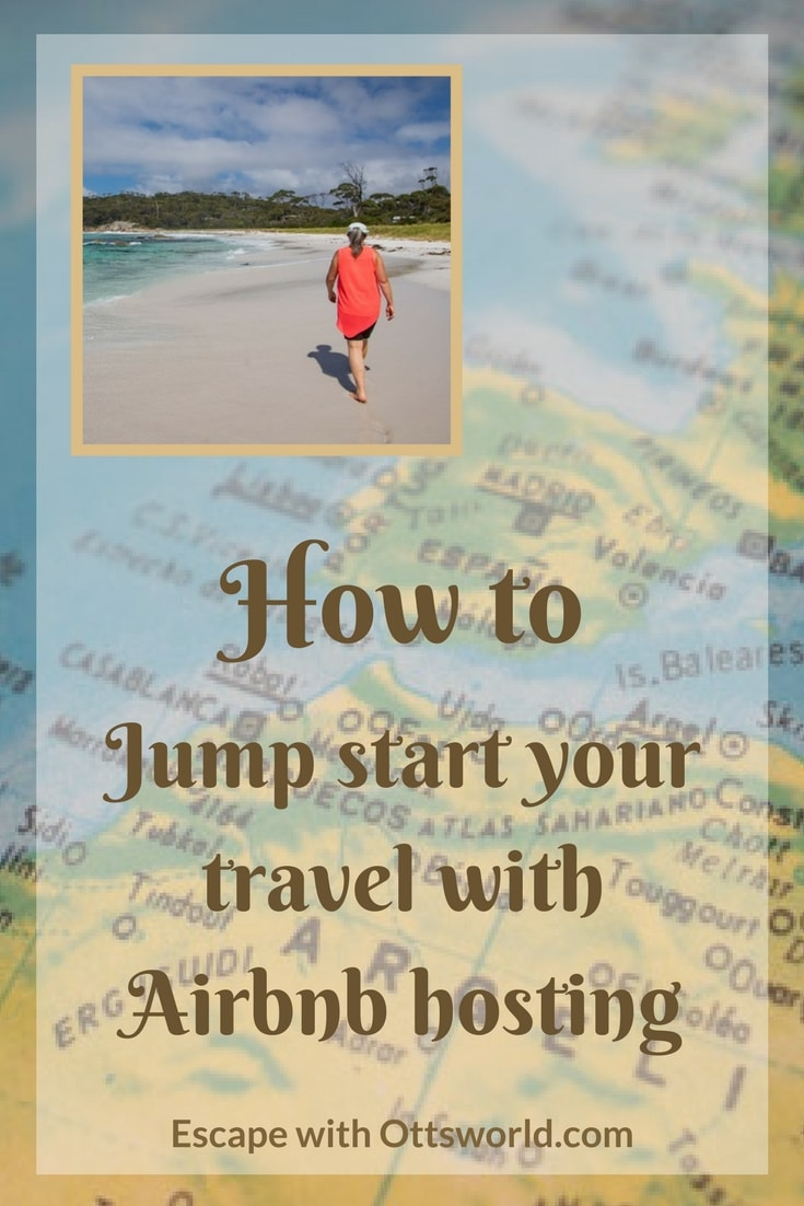 Everyone says they want to travel more and here's a first step at making that dream a reality! How to use #Airbnb hosting to jump start your travels and travel more. #travelmore