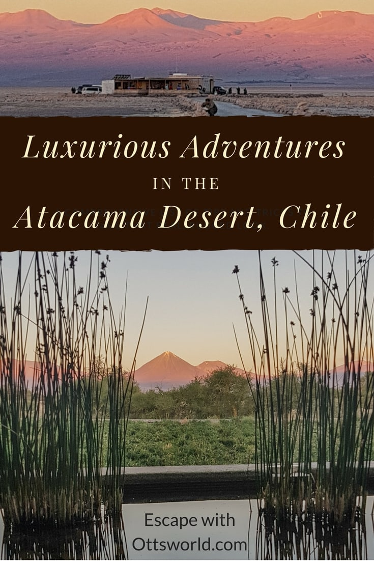In the middle of one of the harshest environments on the planet, you can still find a little luxury. 5 luxurious adventures in the Atacama Desert, Chile!