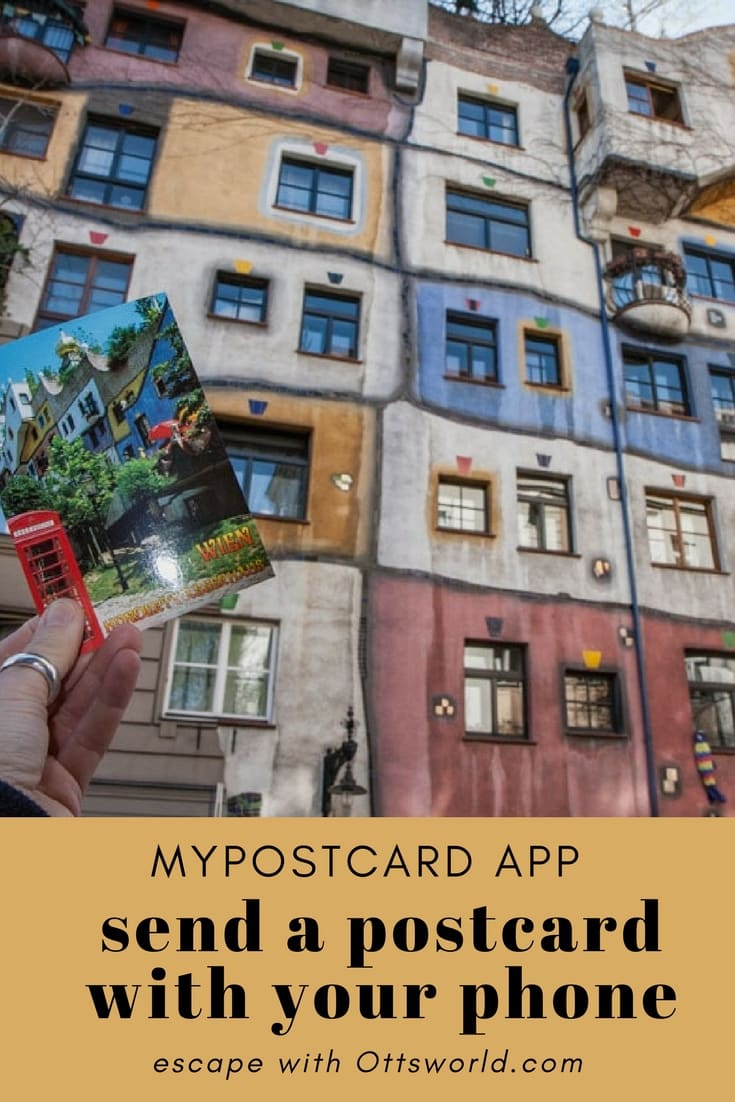 I have a tradition of sending postcards when I travel to new countries!  That process just got easier because now I can create and send postcards from my phone!
