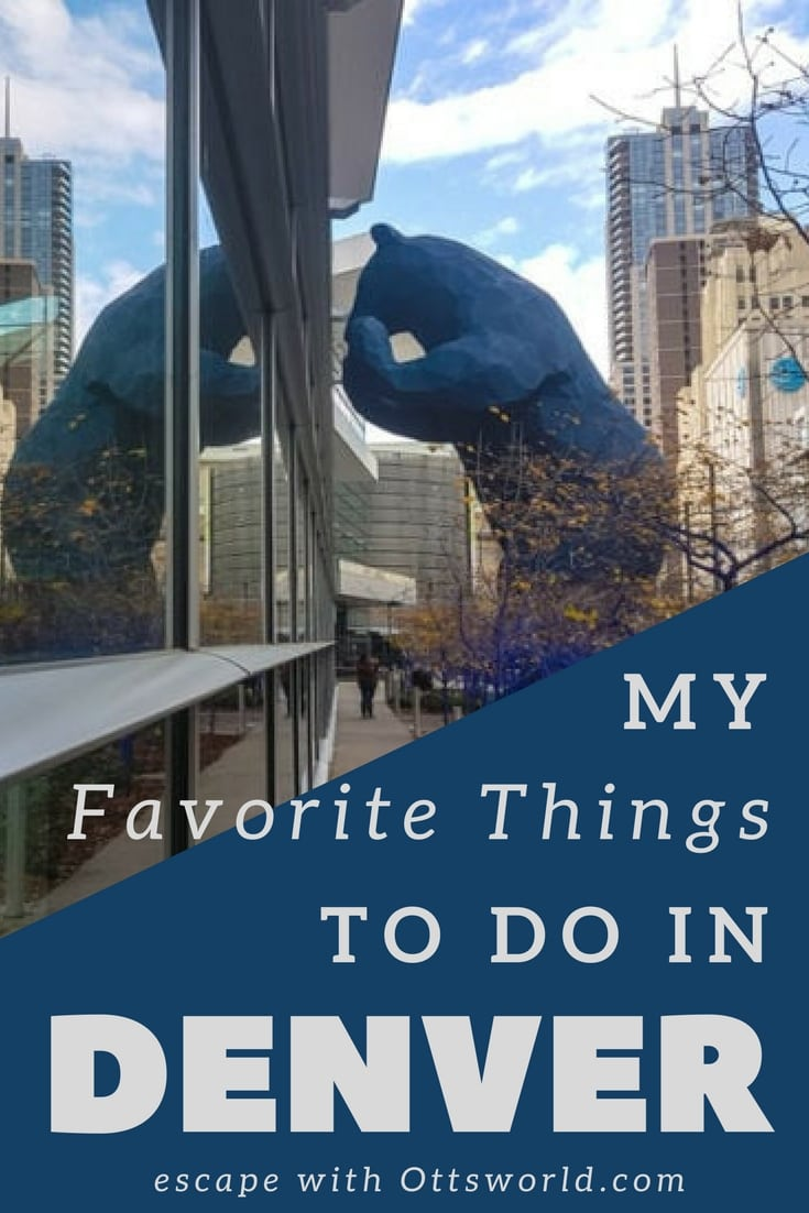 Explore Denver, Colorado - some of my newly discovered favorite things to do in Denver.