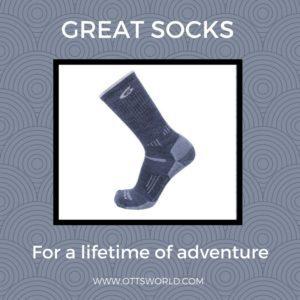 Alaska packing list point6 wool socks