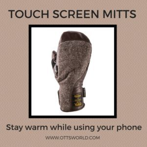 High-quality warm mittens are an essential part of a winter packing list