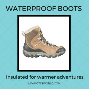winter essentials: insulated boots for alaska