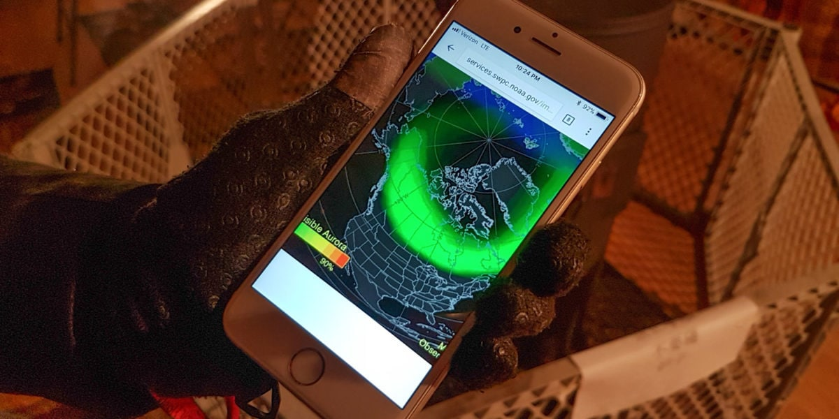 northern lights phone app