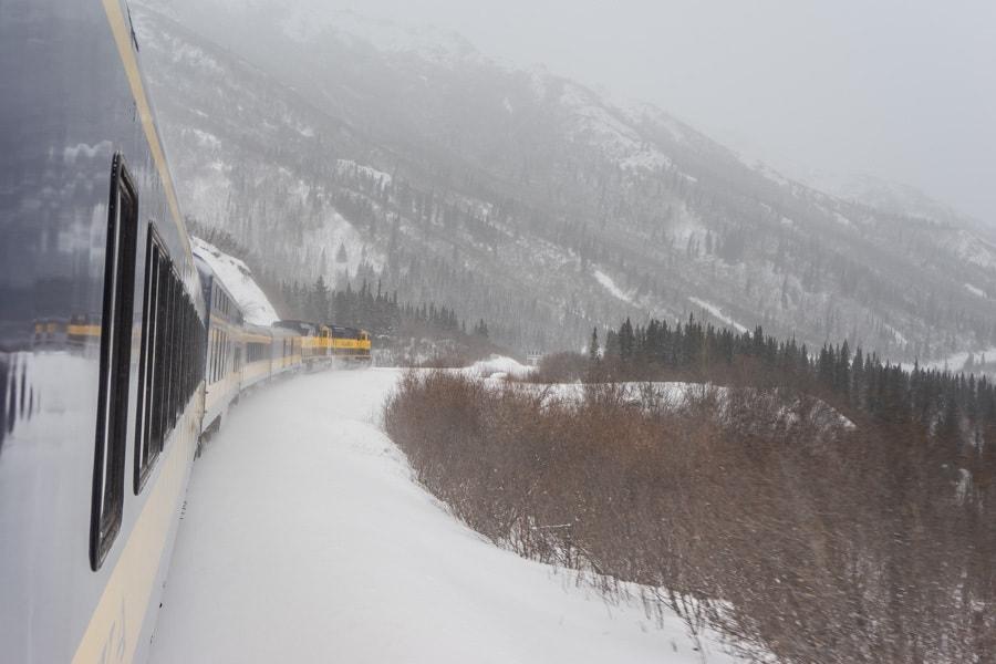 Alaska Train trips winter