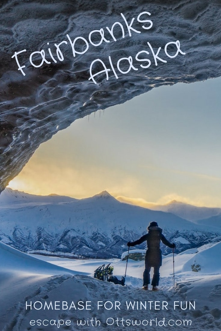 With dog sledding, snow shoeing, aurora chasing, and reindeer walks - see why Fairbanks Alaska is the perfect place to go for a winter adventure!